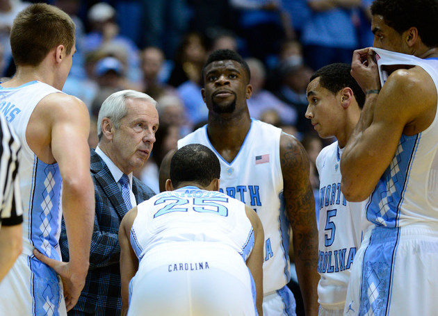 North Carolina has worn its trademark argyle look since the 1991-92 season (Getty Images)
