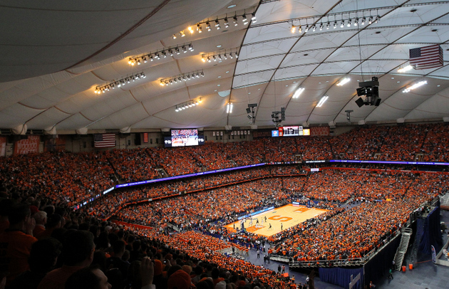 Syracuse set an on-campus attendance record last year against Georgetown (Getty Images)