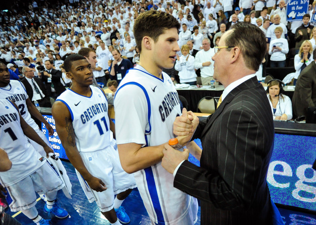 Doug McDermott could see Gregg Marshall again in Sunday's Arch Madness title game (Getty Images)