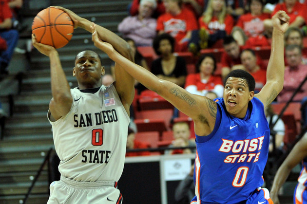 San Diego State held off Boise State despite 19 turnovers (Getty Images)