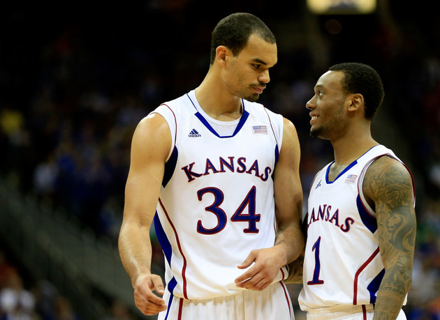 Perry Ellis and Naadir Tharpe (Getty Images)
