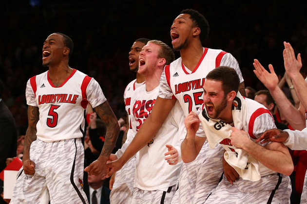 Louisville will be the No. 1 overall seed in the NCAA tournament (Getty Images)