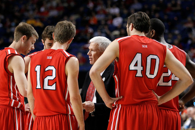 Davidson reportedly may be on the way to the Atlantic 10 (Getty Images)