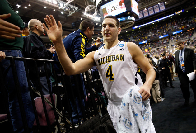 Mitch McGary and Michigan may have to beat VCU again to reach the Puerto Rico title game (Getty Images)