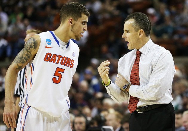 Scottie Wilbekin and Florida coach Billy Donovan (Getty Images)