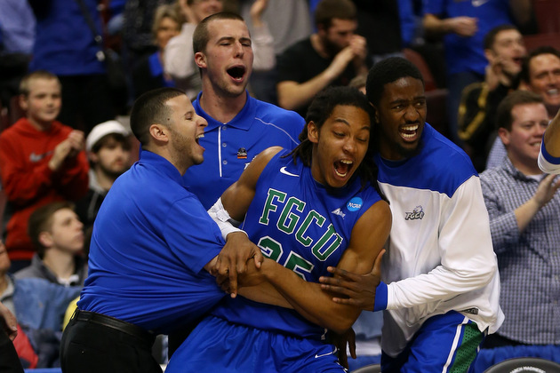 Florida Gulf Coast will face in-state power Florida on Friday in the Sweet 16 (Getty Images)