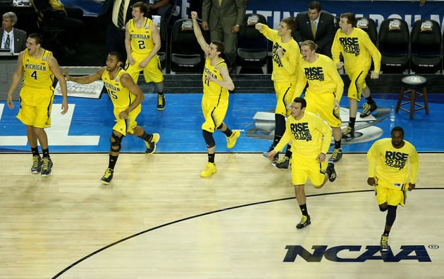 Michigan will challenge Duke in one of the marquee games of this year's Challenge (Getty Images)