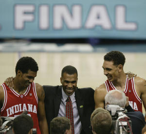 Ten years ago, Mike Davis led Indiana to the 2002 national title game (Getty Images)