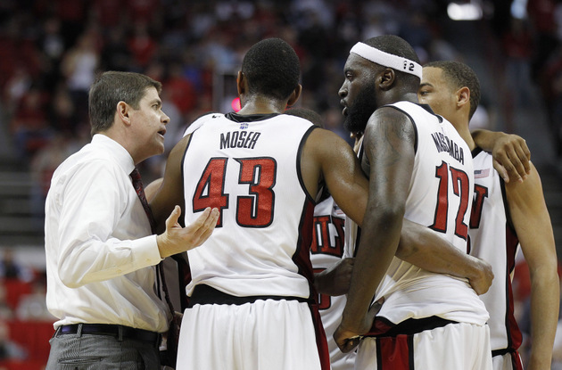 UNLV coach Dave Rice has landed three big-time transfers and a top 10 recruiting class (AP)