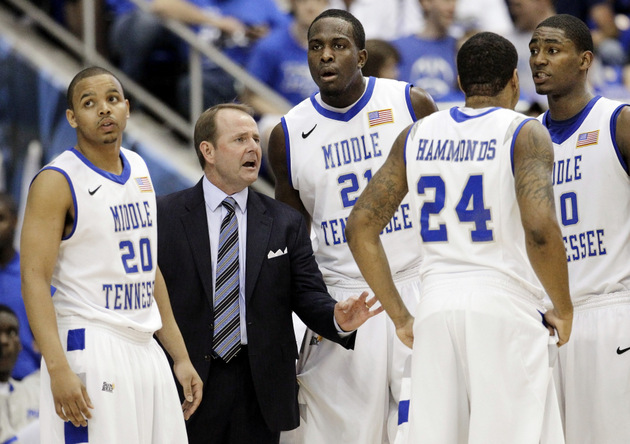 Middle Tennessee State returns four starters but must replace LaRon Dendy (AP)