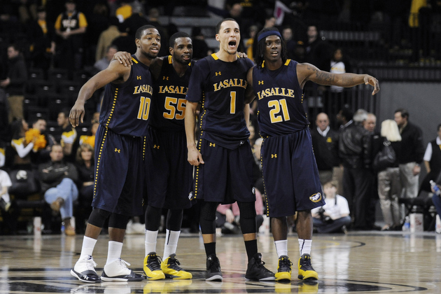 La Salle beat Butler and VCU in back-to-back games this week (AP)