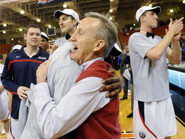 With the right matchup, undersized Belmont could potentially score a big upset in two weeks. (AP)