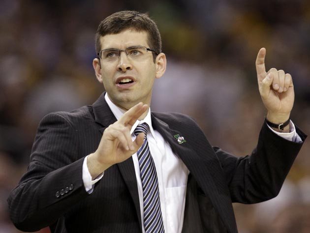 Butler coach Brad Stevens should have a good shot at getting his team back to the field of 68 next season. (AP)