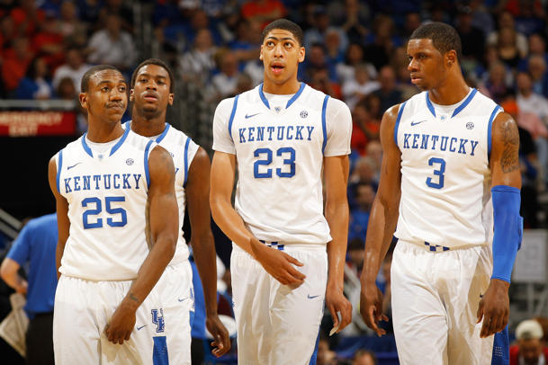 Marquis Teague, Michael Kidd-Gilchrist, Anthony Davis, Terrence Jones (Getty Images)