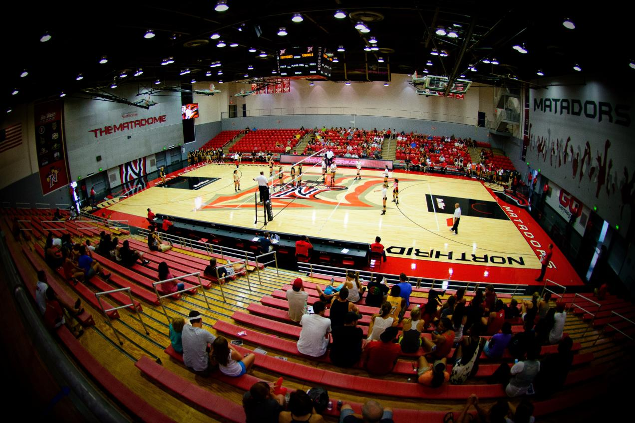 A look at Cal State Northridge's newly renovated Matadome (via Cal State Northridge)