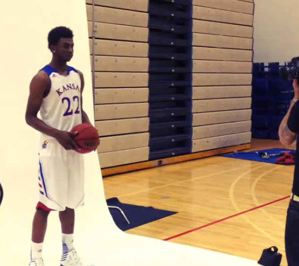 Andrew Wiggins (via Kansas athletics)