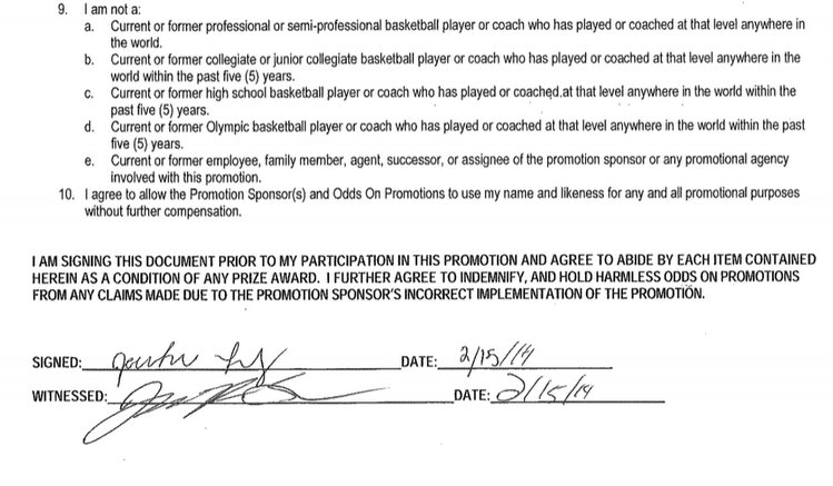 copy of contract via West Chester athletic director Edward Matejkovic