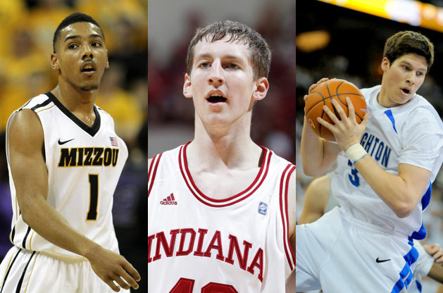 Phil Pressey, Cody Zeller and Doug McDermott (Getty Images)