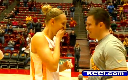 Anna Prins and Ryan De Hamer (screen shot via KCCI.com)