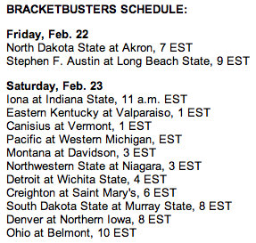 BracketBusters pairings are out, and the clear winner is Saint Mary's