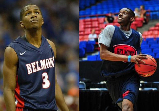 Belmont's Kerron Johnson and Ian Clark (USA Today Sports Images)