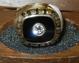 Walter McCarty's NCAA ring (via eBay)