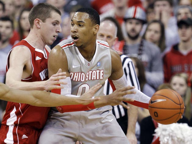 Jared Sullinger and Ohio State enter as the Big Ten tournament's No. 3 seed, but look like the favorite in Indy. (AP)