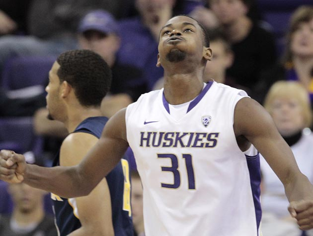 Washington's Terrence Ross is the NIT's leading scorer through three games. Can he carry the Huskies to a title this week in New York City? (AP)