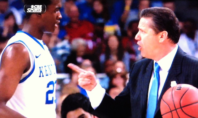 Don't worry Kentucky, John Calipari is going to take care of it himself (photo)