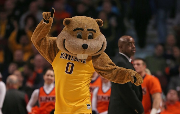 According to Facebook users, Goldy Gopher is set to go ballin'. (Getty Images)