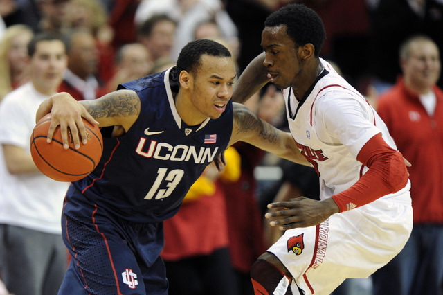 Shabazz Napier and Russ Smith (US Presswire)