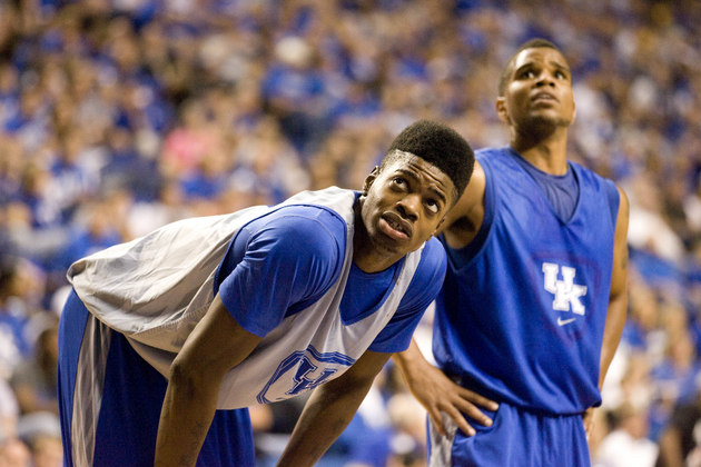 Nerlens Noel and Kentucky's other top freshmen debut against Maryland Friday (US Presswire)
