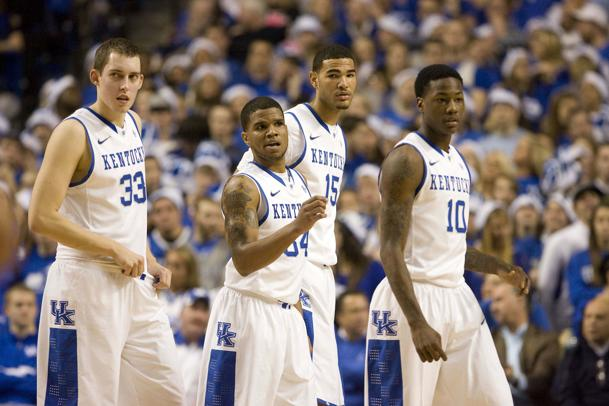 Kentucky suffered its first home loss Saturday since March 4, 2009