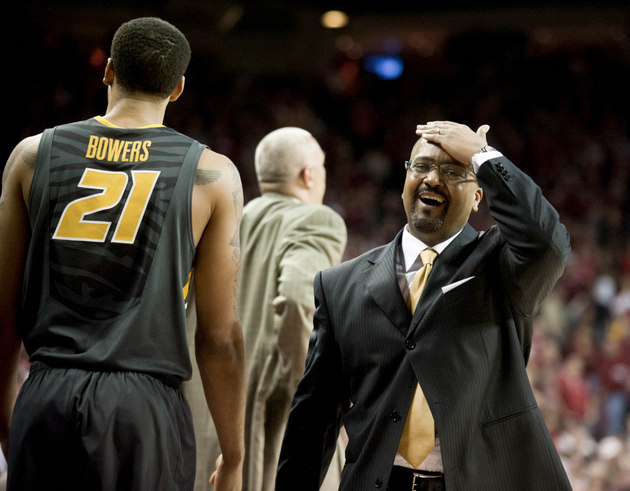 Frank Haith and Missouri have struggled on the road in SEC play (USA Today Sports Images)