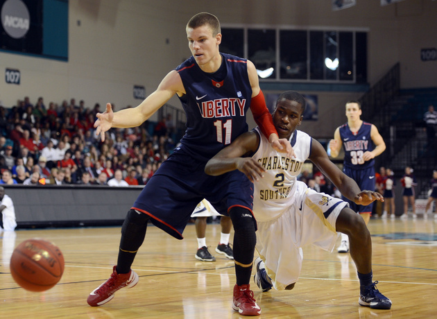 Andrew Smith and Liberty earned their first NCAA bid since 2004 (USA Today Sports Images)