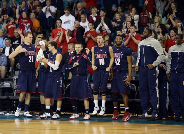 Liberty will be in the NCAA tournament despite a 15-20 record and a No. 288 RPI (USA Today Sports Images)