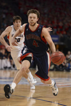 Matthew Dellavedova and Saint Mary's will learn their fate Sunday (USA Today Sports Images)
