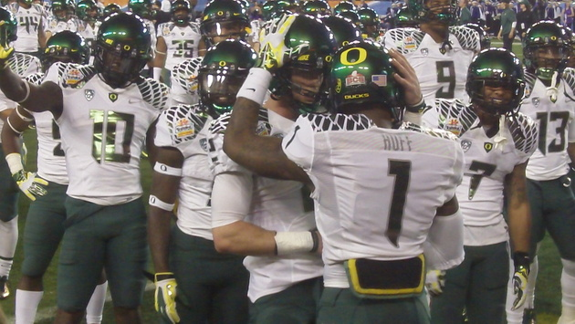 Fiesta Bowl from the field: Chip Kelly's last time with the Ducks?