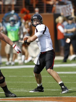 Could Seth Doege be on the Longhorn Network next year in a game against Texas State? (Getty)