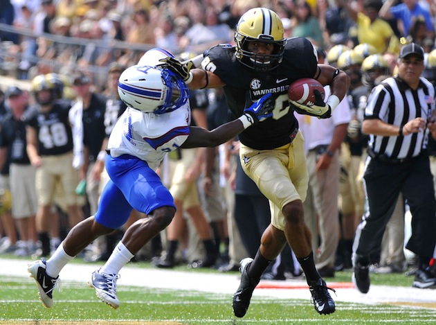Suspended Vanderbilt WR will serve almost year on probation after his plea deal. (Getty Images)