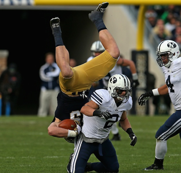 Report: BYU linebacker Spencer Hadley's five-game honor ...