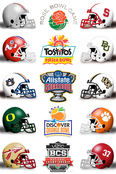 final bowl projections Here are our final bowl projections of the season with more teams eligible for bowls than there are spots.
