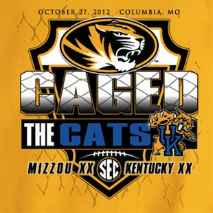 Mizzou commemorates its win over Kentucky with a T-shirt. No, really.