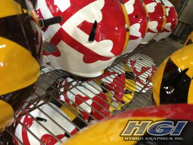 Maryland's outlandish helmets will make a return in 2012