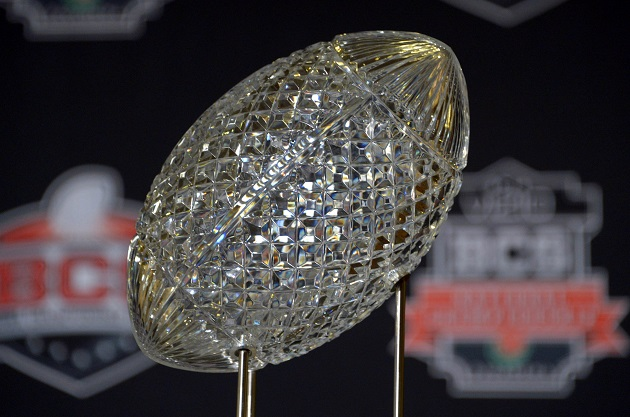 Bcs College Football Rankings >> The coaches poll will continue in 2014; crystal football trophy will be replaced by new College ...