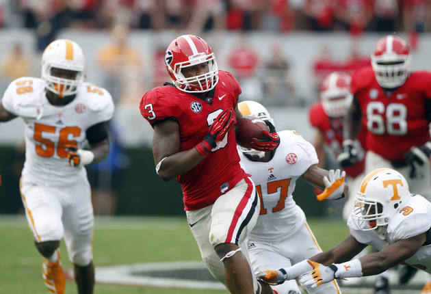 Georgia RB Todd Gurley (Associated Press)