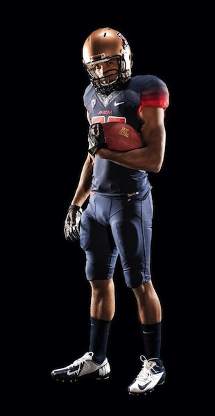 Arizona introduces new uniforms with rainbow-inspired numbers and sleeves (Photos)