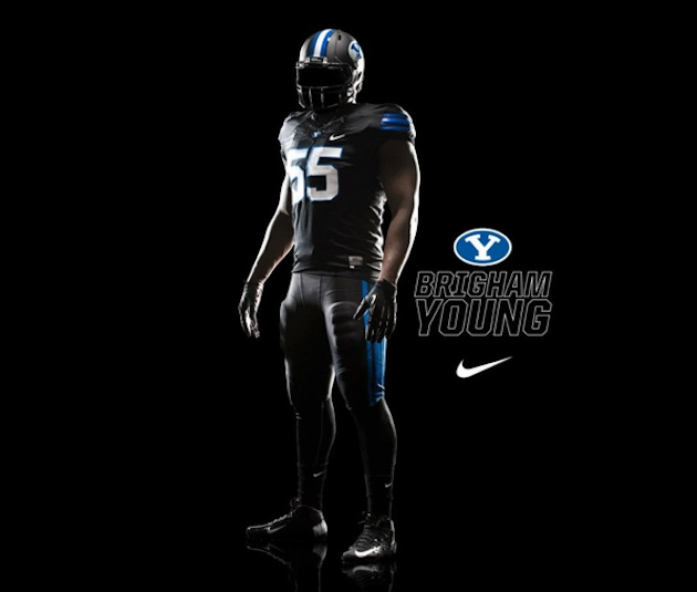 BYU to debut black uniforms against Oregon State