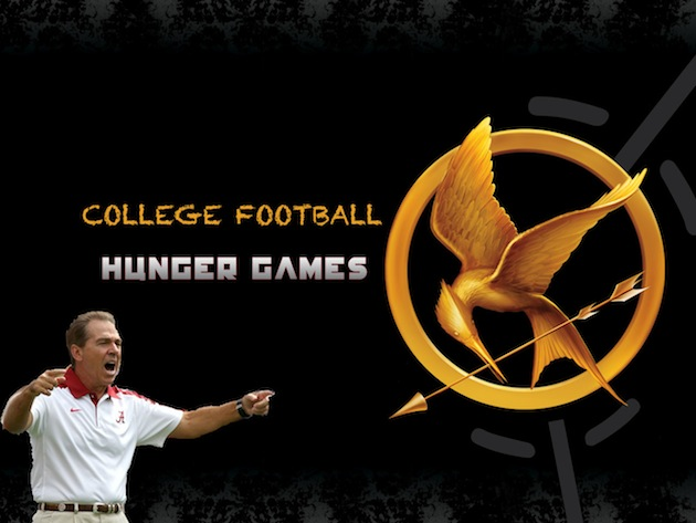College Football Hunger Games: The Games begin