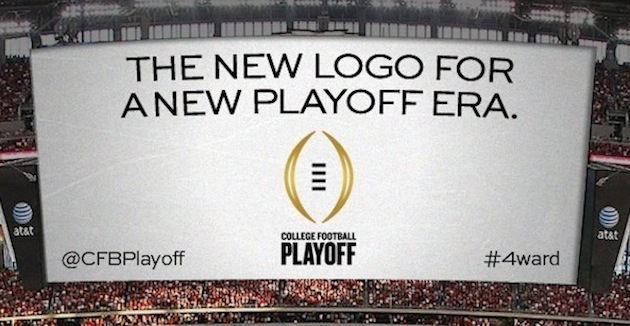 The College Football Playoff reveals its new logo